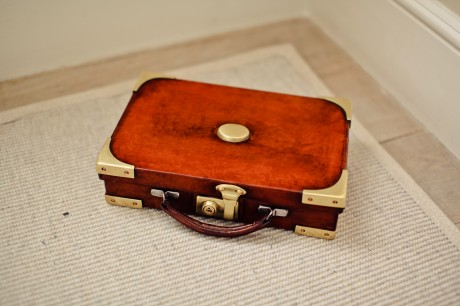 A Set of Gold-trimmed Briefcases (Small)
