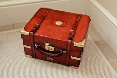 A Set of Gold-trimmed Briefcases (Large)